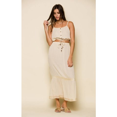 Raga Day Drift Drawstring Crop
