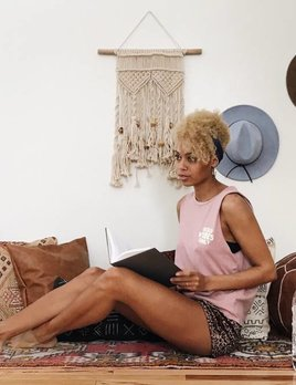 Bungalow Design Pink Runner Rug