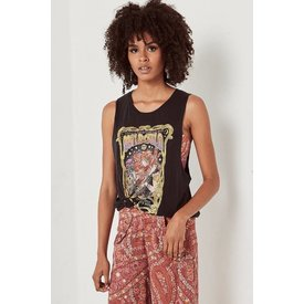 Spell and the Gypsy Collective Spell Wild Child Singlet - Black