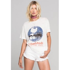 Daydreamer Daydreamer Woodstock Poster Burnout Boyfriend Tee