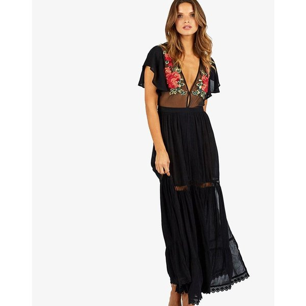 Cleobella Cleobella Amery Maxi Dress Black