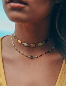 Stacy Sterling Stacy Sterling Diamond Chevron Choker