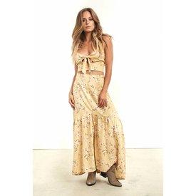 Saltwater Luxe Saltwater Luxe CoCo Skirt Mustard