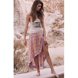 Spell and the Gypsy Collective Spell Jewel Wrap Skirt Quartz