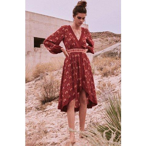 Jewel Soiree Dress Copper
