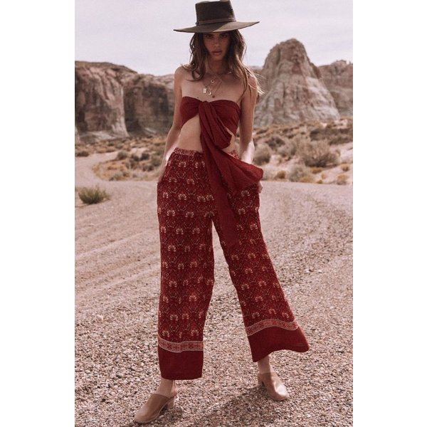 Spell and the Gypsy Collective Jewel Palazzo Pants Copper