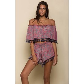 Raga LA Raga Electric Love Tassel Crop