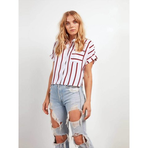 Counting Moons Stripe Top