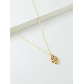 Vanessa Mooney Christie Hamsa Necklace