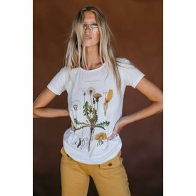 Golden Brown Fine and Dandy Tee