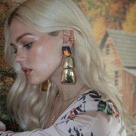 2 Bandits Yellowstone Earrings