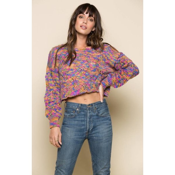 Raga LA Elsie Pullover Sweater Multi