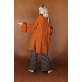 Golden Brown Seraphine Cardigan