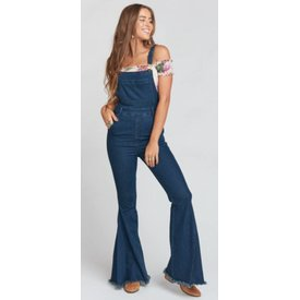 Show Me Your Mumu Berkeley Bells Overalls