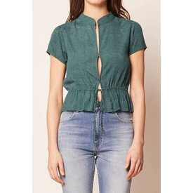 Rollas Ella Blouse 90s Green Spot