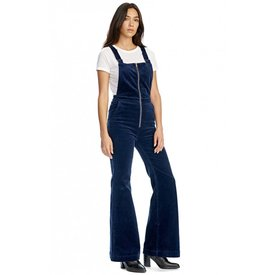 Rollas Eastcoast Flare Overall Midnight Cord