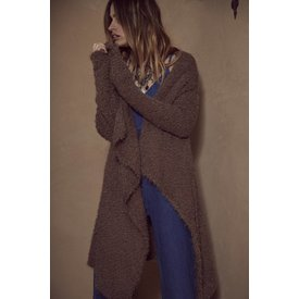 Sage the Label Sundown Cardigan Mocha