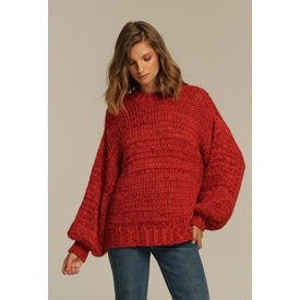 Rue Stiic Sahara Sweater Red