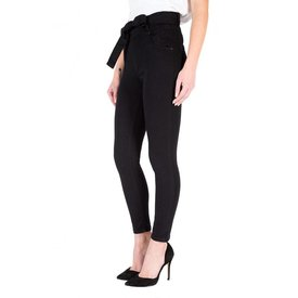 Black Orchid Black Orchid Jaimie Belted Skinny Jeans So Black