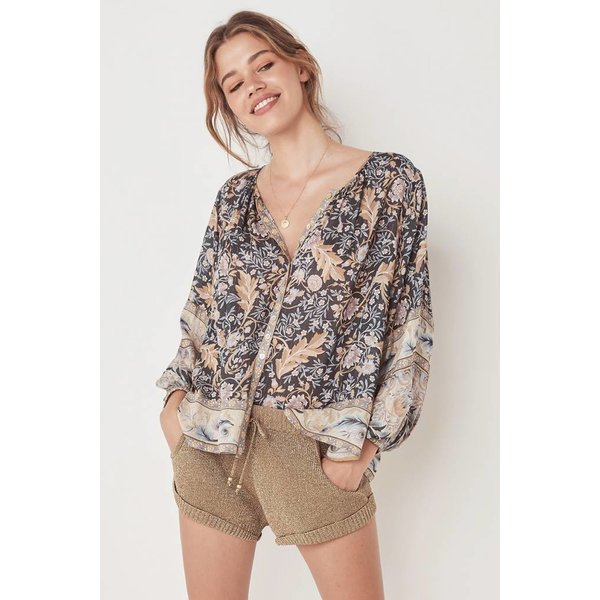 Spell and the Gypsy Collective Oasis Blouse - Nightshade