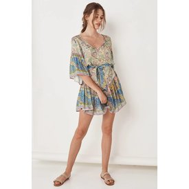 Spell and the Gypsy Collective Oasis Mini Dress - Opal