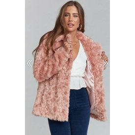 Show Me Your Mumu Park Ave Jacket Faux Fur