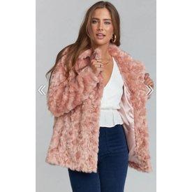 Show Me Your Mumu Park Ave Jacket Faux Fur