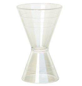 Jigger- Clear Plastic 3oz/1.5oz