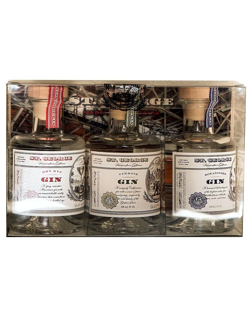 St. George Gin Mini Pack (3/200ml)
