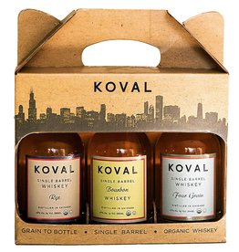 Koval Whiskey Gift Pack (3/200ml)