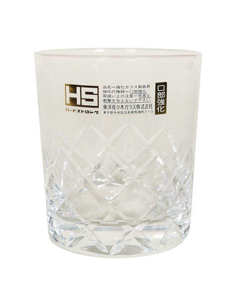 Japanese Yarai Rocks Glass (8oz)