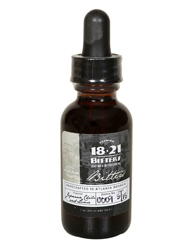 18.21 Bitters- Japanese Chili and Lime 1oz