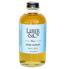 Liber & Co Classic Gum Syrup (9.5 oz)
