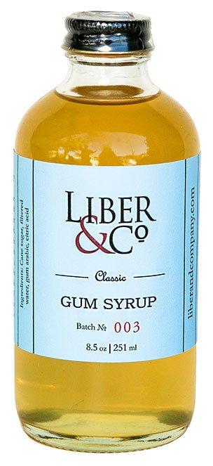 Liber & Co Classic Gum Syrup (9.5 oz)