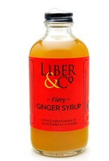 Liber & Co Fiery Ginger Syrup (9.5 oz)