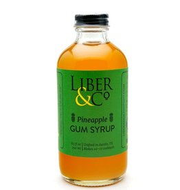 Liber & Co Pineapple Gum Syrup (8.5oz)