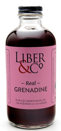 Liber & Co Real Grenadine (8.5oz)