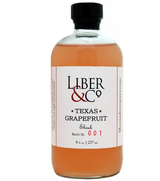 Liber & Co Texas Grapefruit Shrub  (9.5oz)