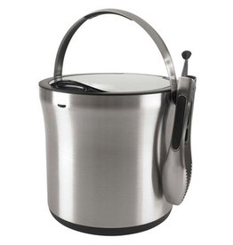 Oxo Stainless Ice Bucket with Tongs