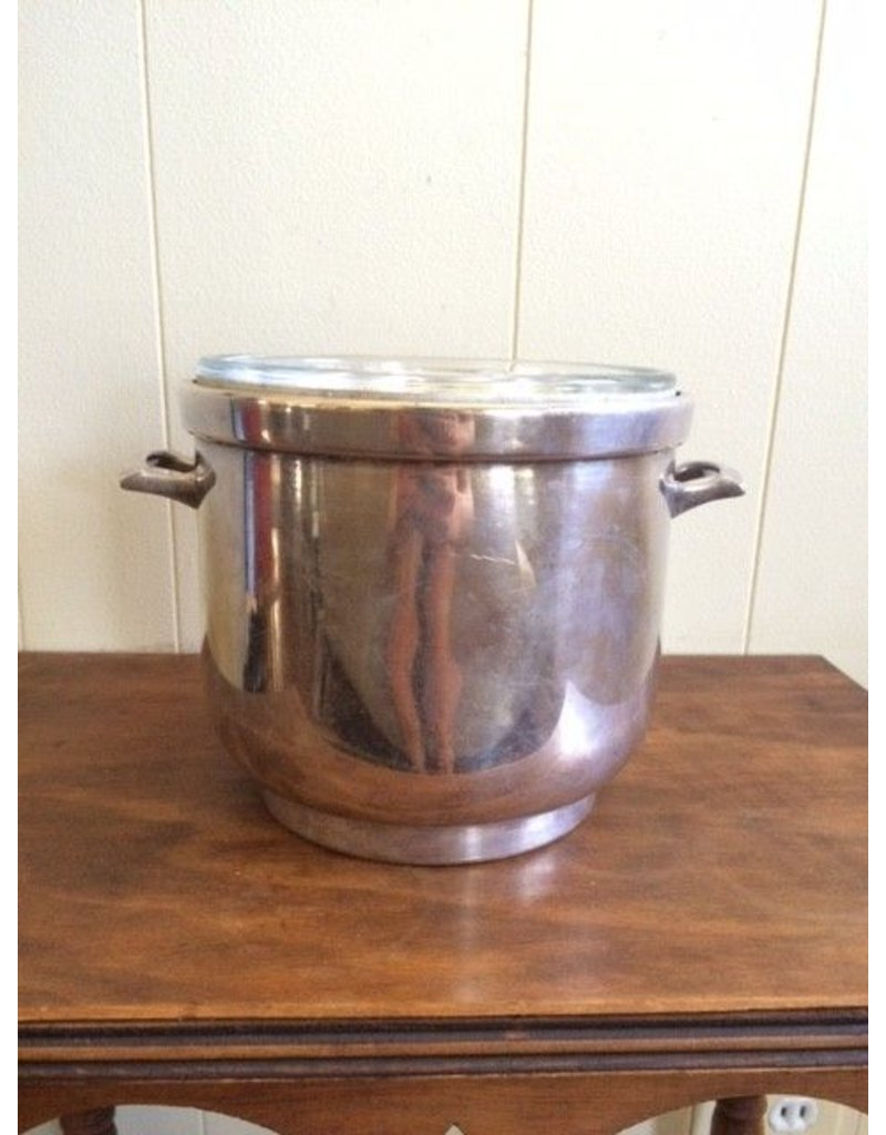 Silver Ice Bucket w/out Lid or Handle