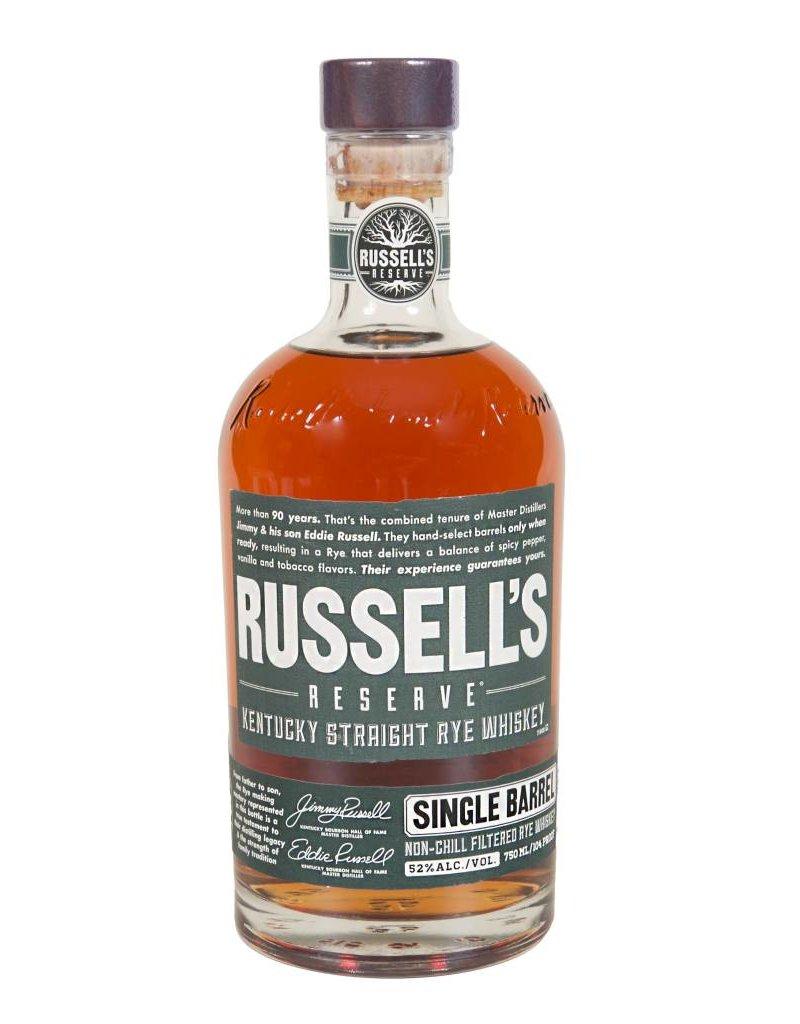 Russell's Reserve Single Barrel Rye 52.2% (750ml)