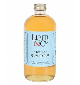 Liber & Co Classic Gum Syrup (17oz)