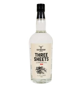 Cutwater Spirits Three Sheets Rum (750 ml)