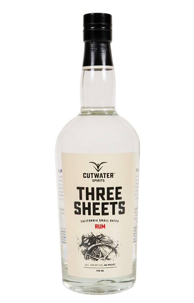 Cutwater Spirits Three Sheets Rum (750 ml)