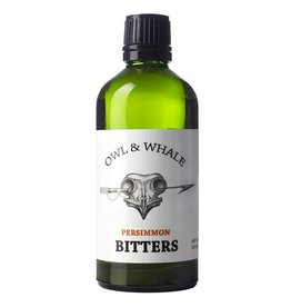 Owl & Whale Persimmon Bitters (100ml)