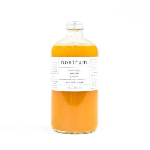 nostrum- Ginger, Turmeric, Pineapple Shrub (16oz)