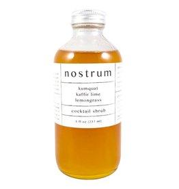 Nostrum - Kumquat Kaffir Lemongrass Shrub (16oz)