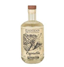 Cinco Sentidos Mezcal Espadin 48.1% abv  (750 ml)