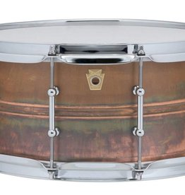 "Ludwig Ludwig Copperphonic Snare Drum - 6.5""x14"""