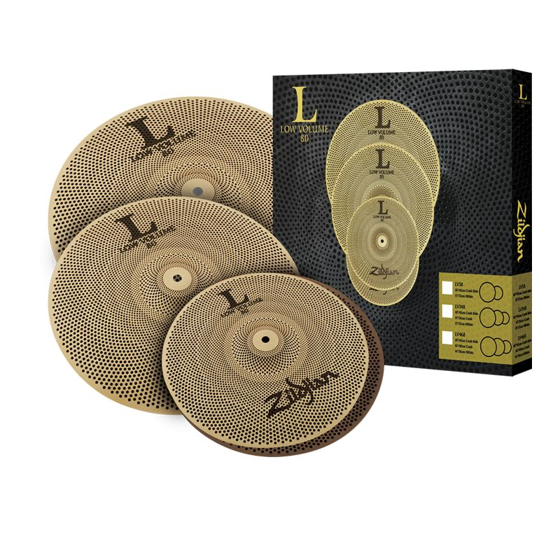 Zildjian Zildjian Low Volume Cymbal Set LV468